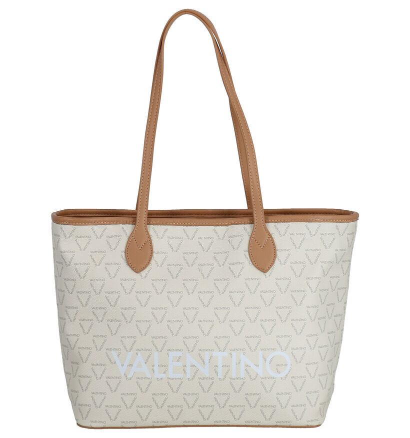 Valentino Handbags Liuto Beige Shopper Tas in kunstleer (275803)