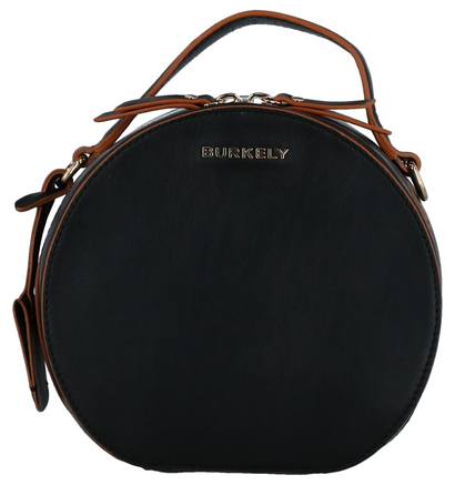 Burkely Birthday Zwarte Crossbody Tas in leer (273989)
