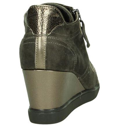 Geox Chaussures à fermeture à glissière et lacets  (Taupe), Taupe, pdp