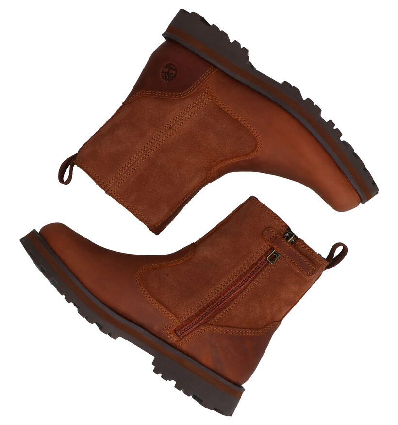 Timberland Courma Kid Bruine Chelsea Boots in leer (277738)