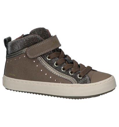Geox Chaussures hautes en Rose foncé en simili cuir (254469)