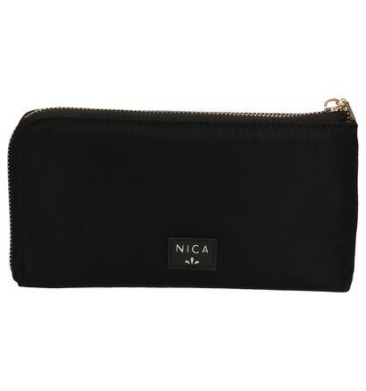 Nica Porte-monnaies à fermeture à glissière en Noir en textile (203840)