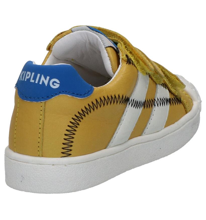 Kipling Furio Gele Velcroschoenen in leer (273221)