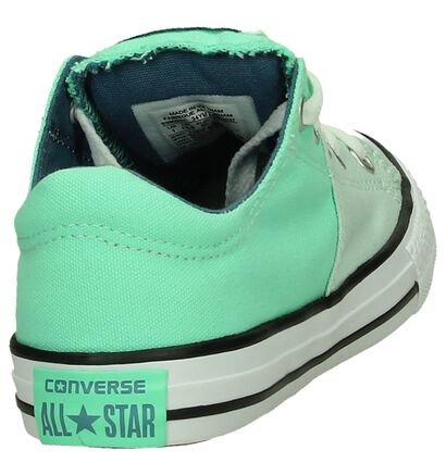 Converse Chuck Taylor All Star Madison Groene Sneakers in stof (191281)