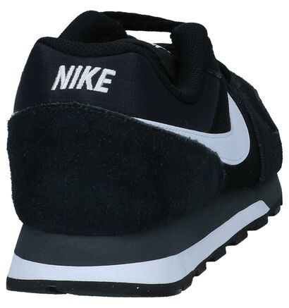 Donkerblauwe Sneakers Nike MD Runner 2 in daim (234113)