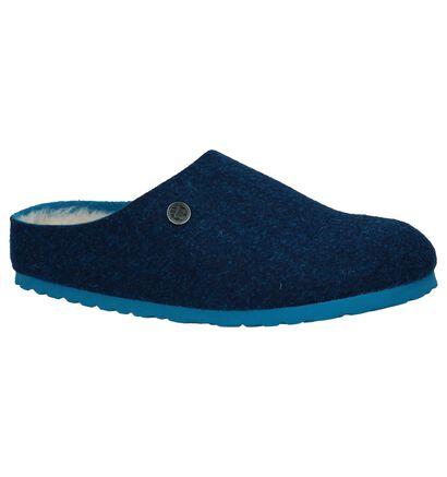 Kaki Pantoffels Birkenstock Kaprun, Blauw, pdp