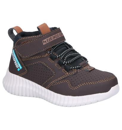 Skechers Bruine Boots in stof (256238)