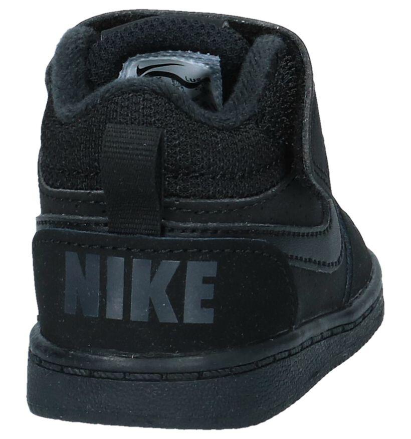 Court Borough Baskets hautes en Noir en simili cuir (234343)