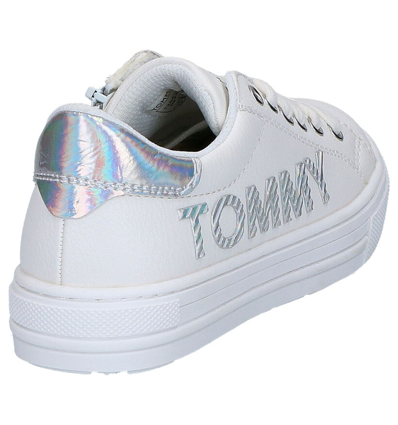 Tommy Hilfiger Chaussures basses en Blanc en simili cuir (266564)