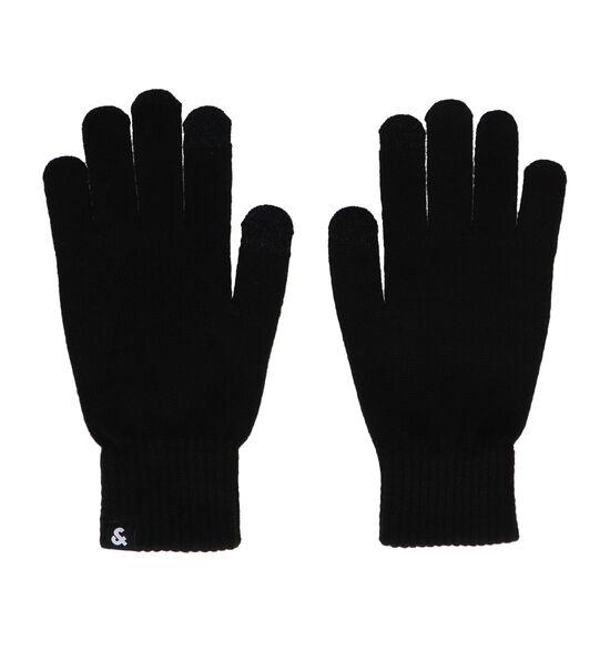 Jack & Jones Barry Zwarte Handschoenen