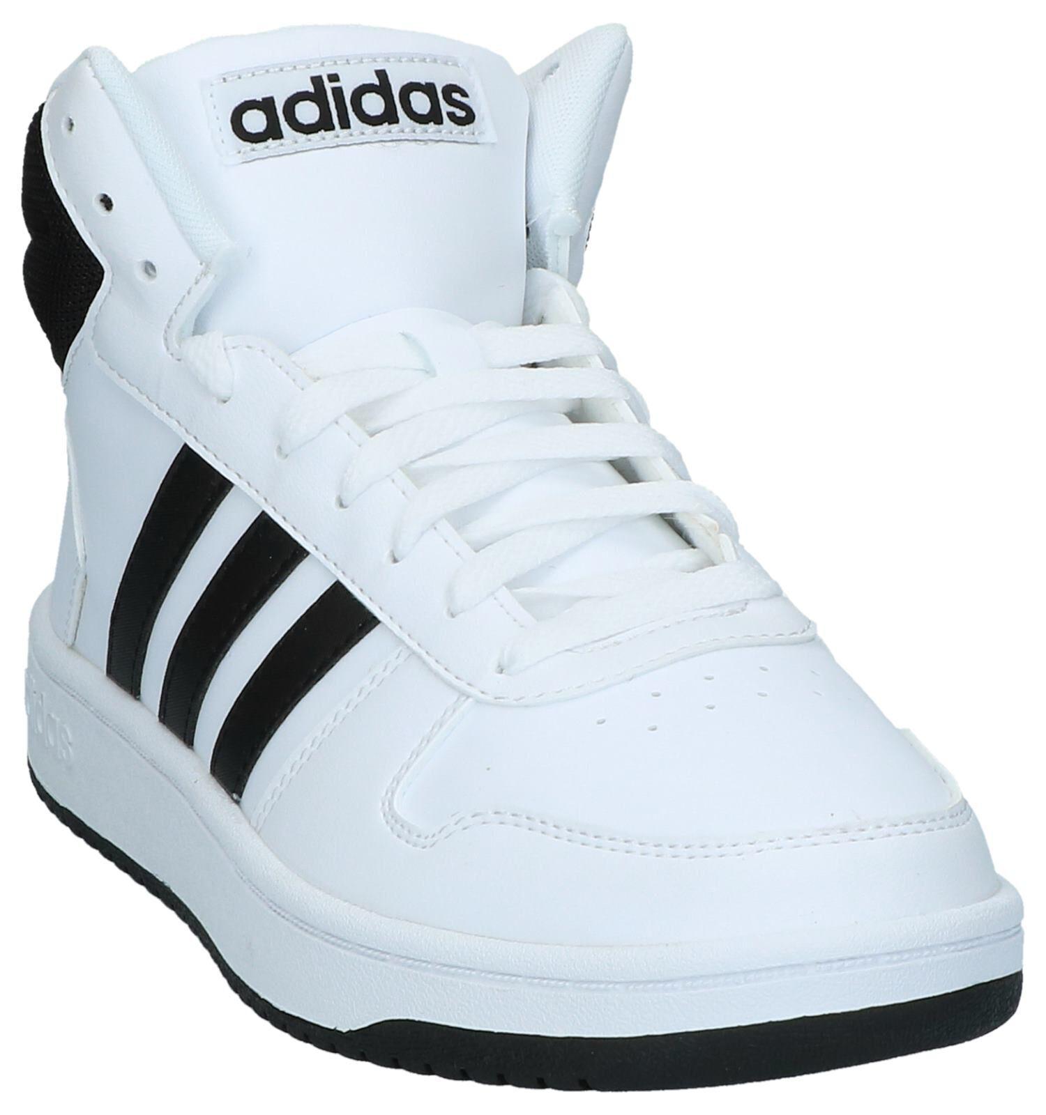 Adidas ADI HOOP 2 MID Hoge sneakers Wit Schoenen kopen
