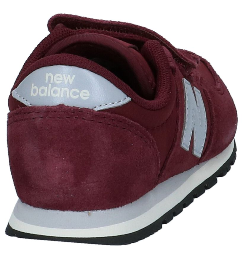 Lage Sportieve Sneakers Bordeaux New Balance KE 420 in nubuck (222849)