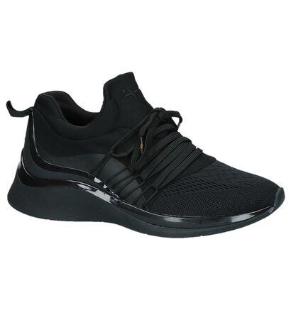 Tamaris Fashletics Zwarte Sneakers, Zwart, pdp