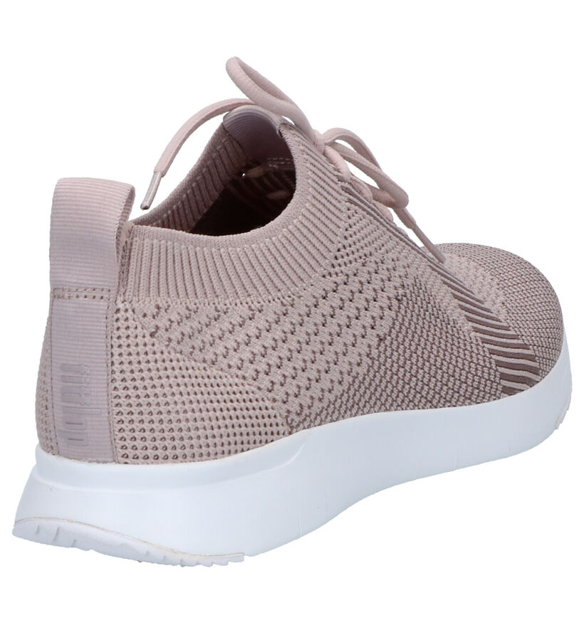 FitFlop Ursula Zwarte Slip-on Sneakers in stof (252173)