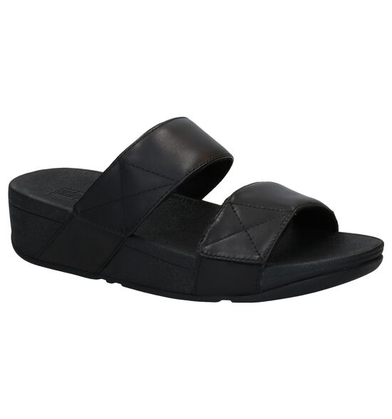FitFlop Mina Slides Zwarte Slippers