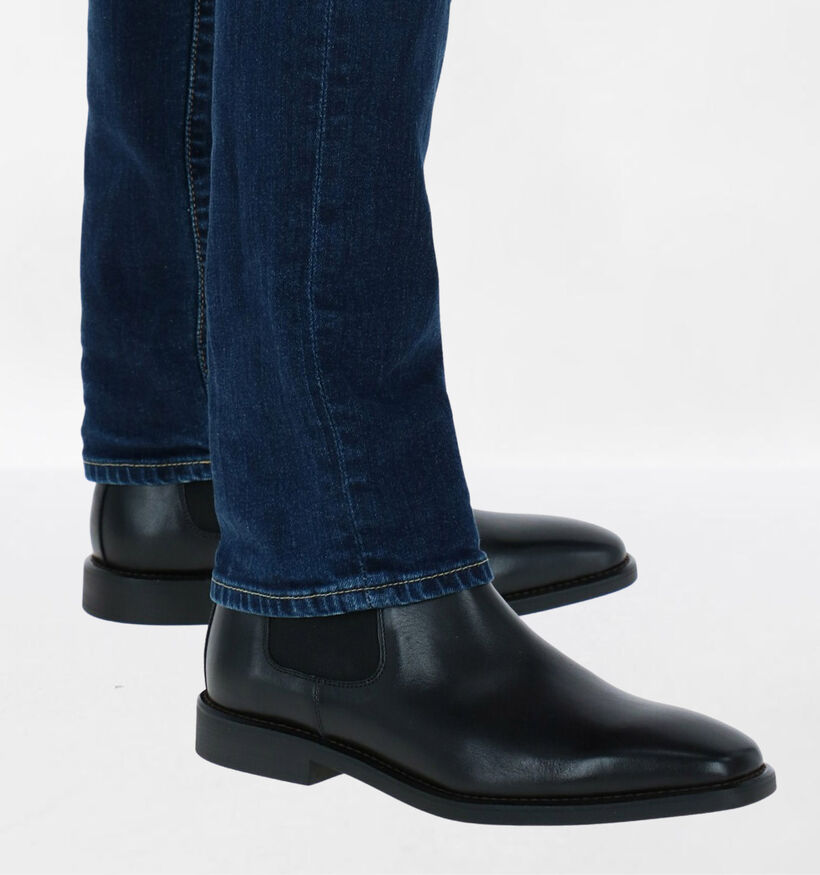 Steptronic Mayfair Chelsea Boots en Cognac en cuir (281379)