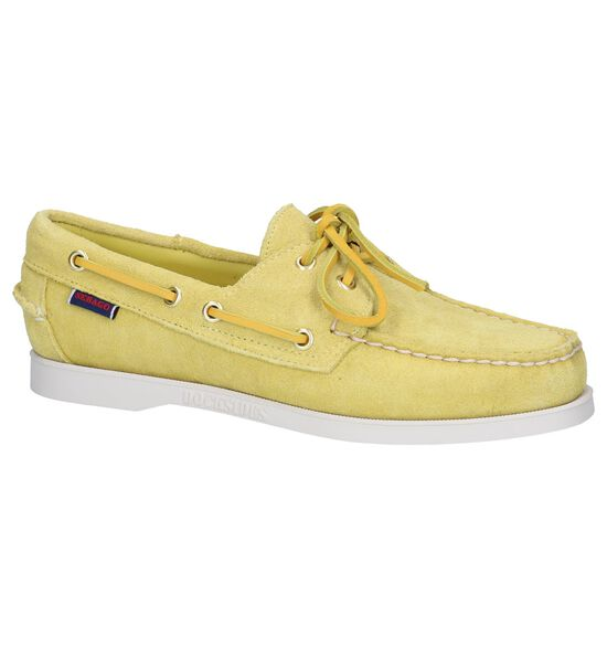 Sebago Chaussures bateau en Jaune