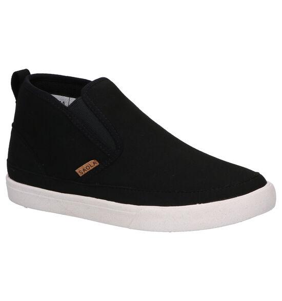 Saola Tahoe Zwarte Sneakers
