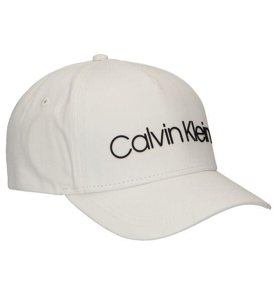 Witte Pet Calvin Klein Sliver Contrast Trucker Cap
