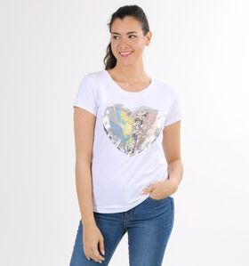 Dolce C. T-shirt en Blanc (299766)