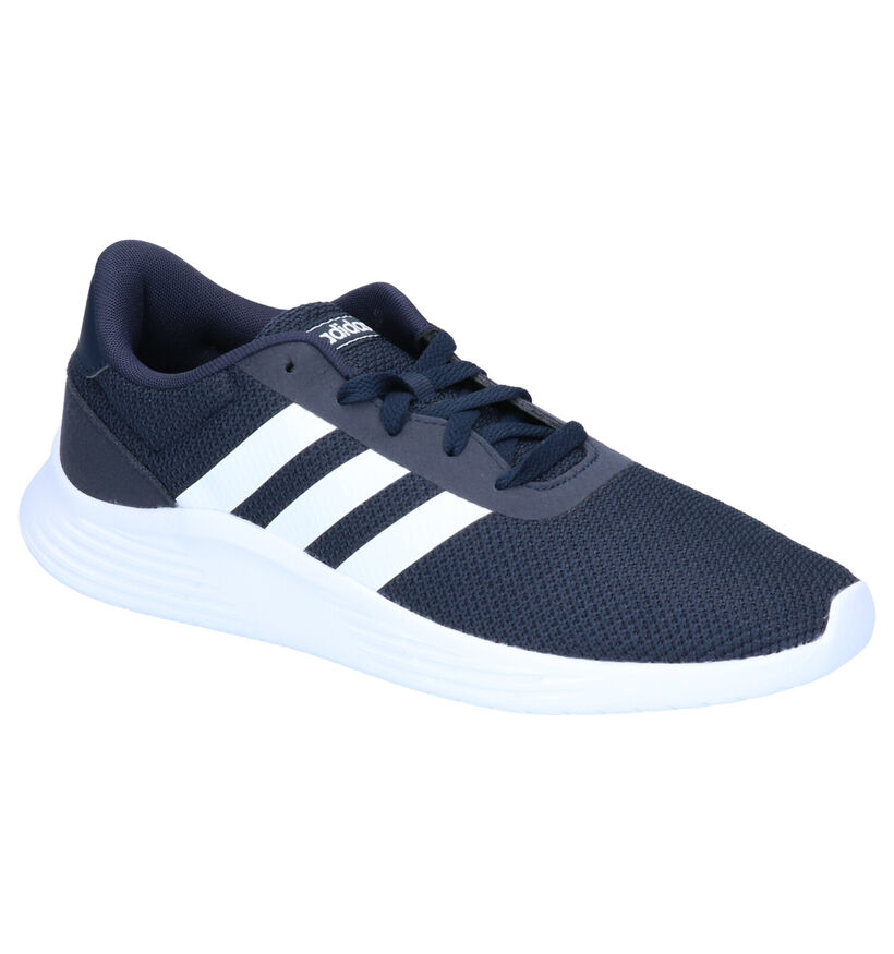 adidas Lite Racer 2.0 Zwarte Sneakers in stof (264833)
