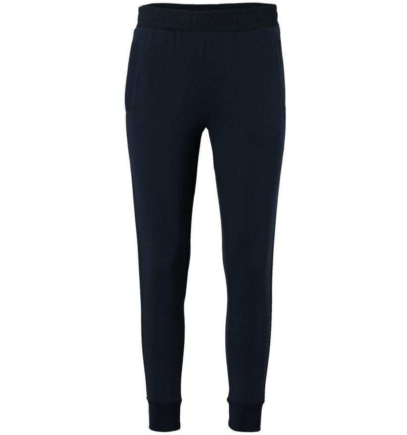 Maison Espin Pantalon style jogging en Bleu (277936)