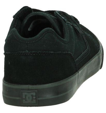 DC Shoes Tonik Zwarte Lage Skate Schoenen, Zwart, pdp