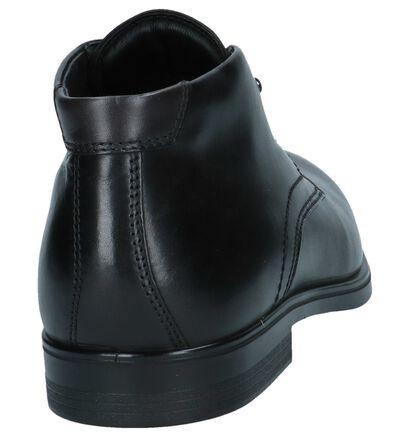 ECCO Chaussures hautes en Noir en cuir (235758)