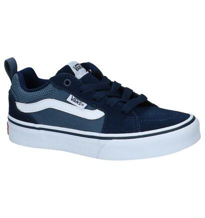 Blauwe Vans Filmore Skateschoenen in stof (222626)