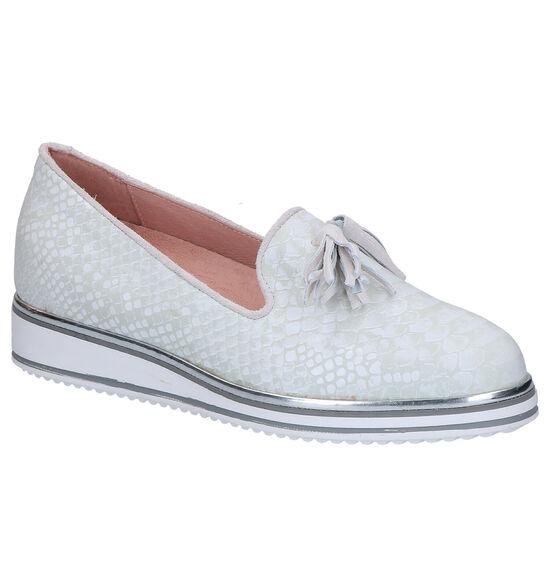 Via Limone Chaussures slip-on en Écru