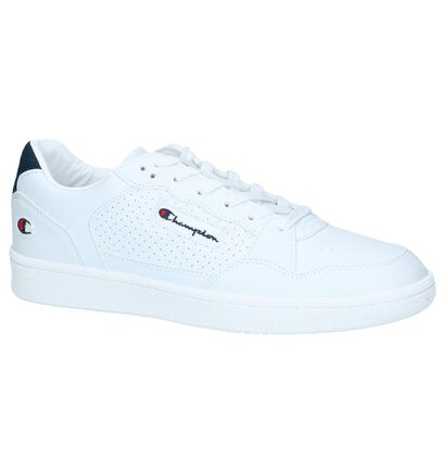 Witte Lage Sneakers Champion Cleveland in imitatieleer (240874)