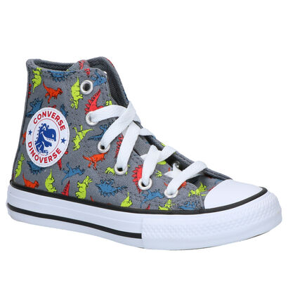 Converse Chuck Taylor AS Grijze Sneakers in stof (263507)
