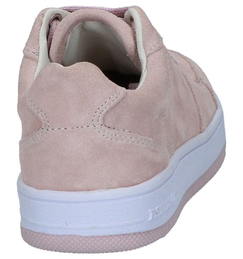 Roze Sneakers Milo & Mila in daim (247494)
