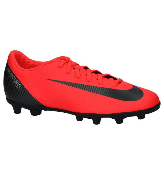 Fluorode Nike CR7 Vapor Voetbalschoenen met Noppen