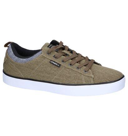 O'Neill Skate sneakers en Vert kaki en textile (244559)