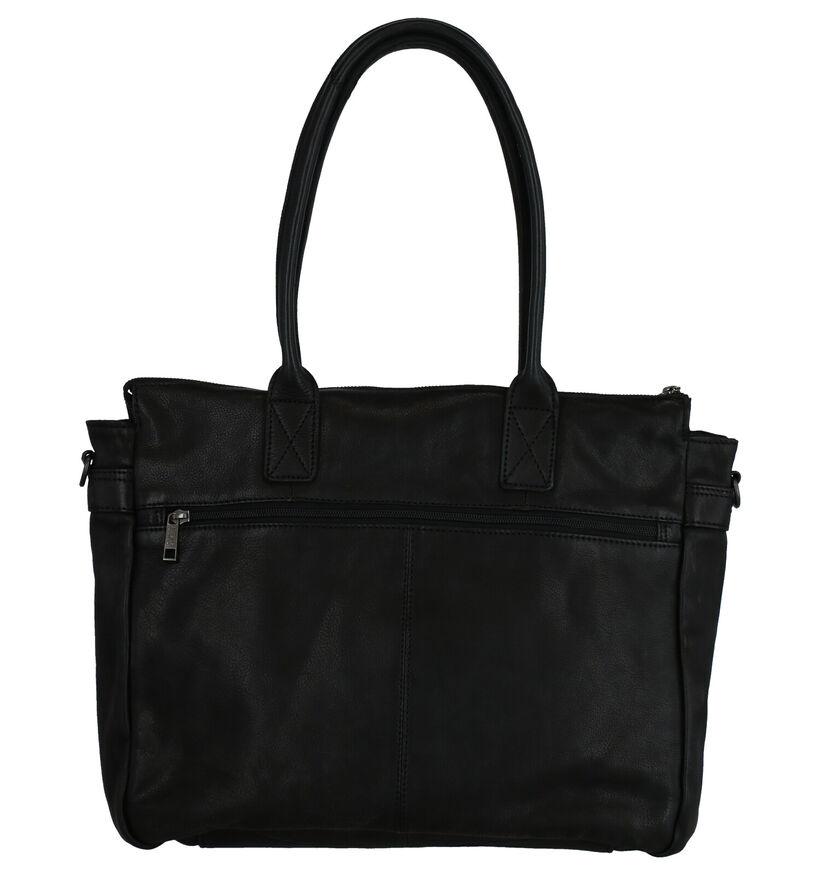 Bear Design Sac à bandoulière en Noir en cuir (274719)