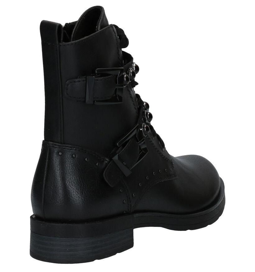 Marco Tozzi Zwarte Boots in kunstleer (280548)