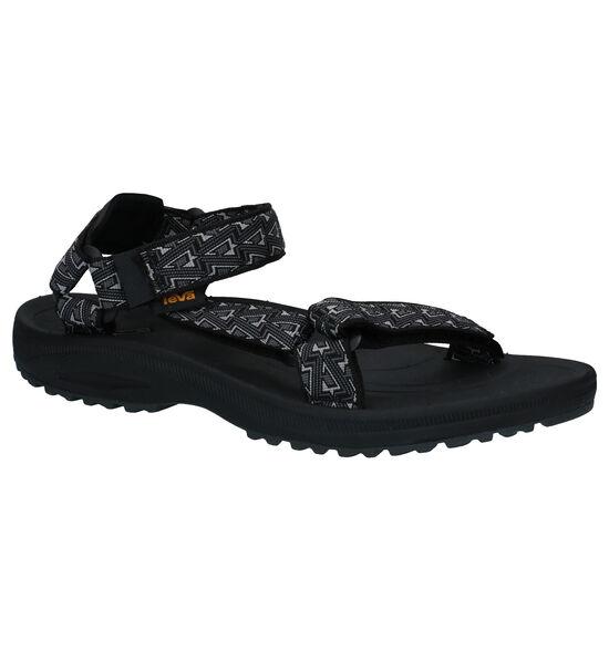 Teva Winsted Zwarte Sandalen