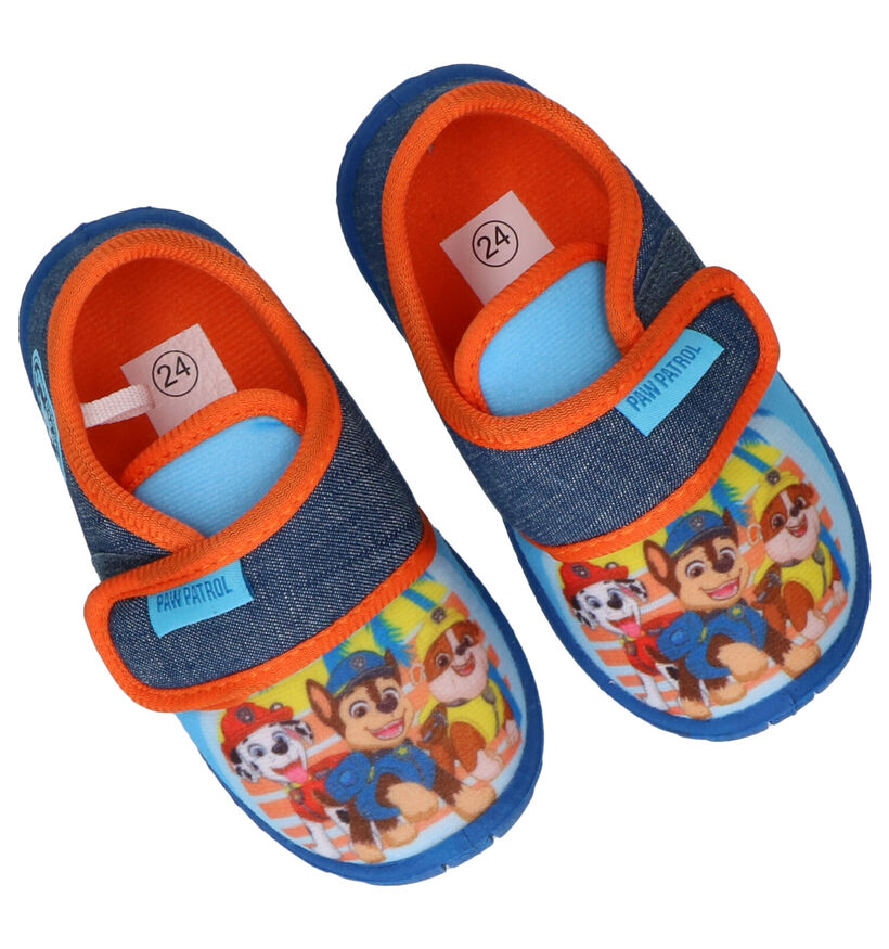 Paw Patrol Blauwe Pantoffels in stof (288518)