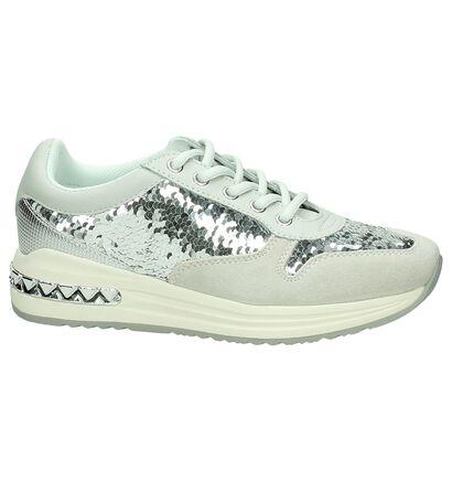 Cafènoir Zilveren Sneakers, Zilver, pdp