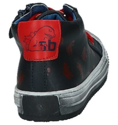 STONES and BONES Vome Chaussures hautes en Cognac en cuir (255449)