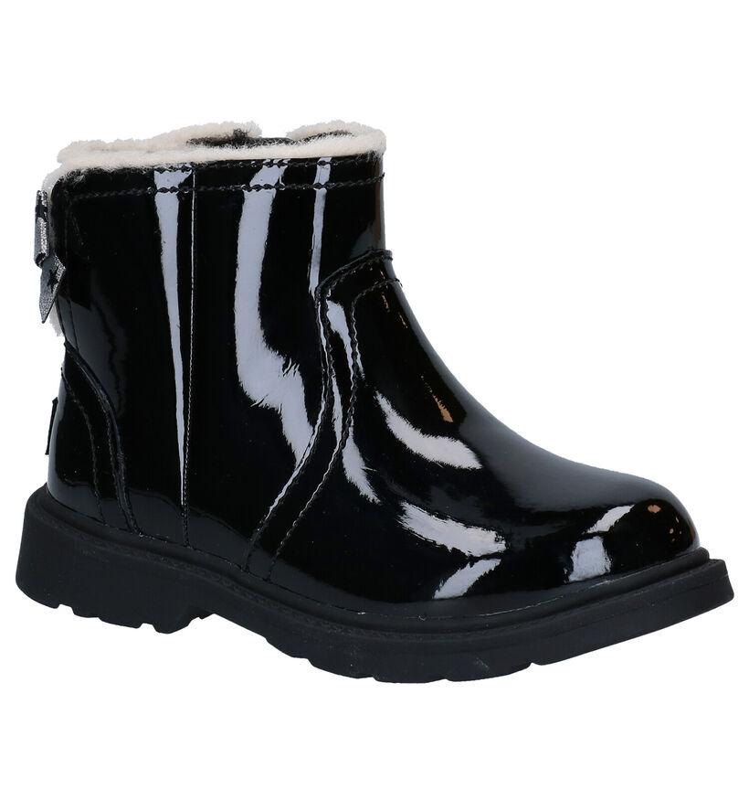 UGG Lynde Zwarte Boots in lak (278804)