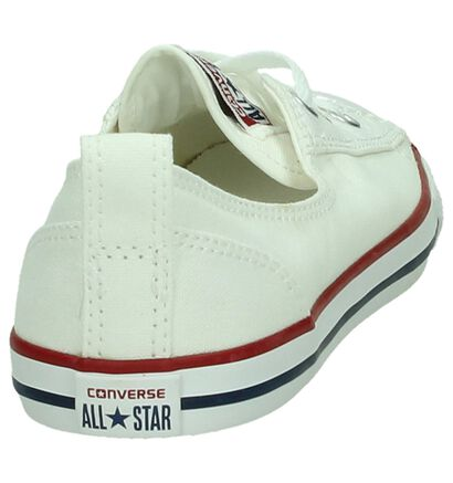 Converse Chuck Taylor All Star Ballet Sneakers, Wit, pdp