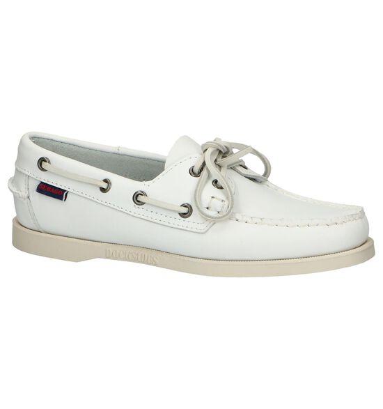 Sebago Chaussures bateau en Blanc