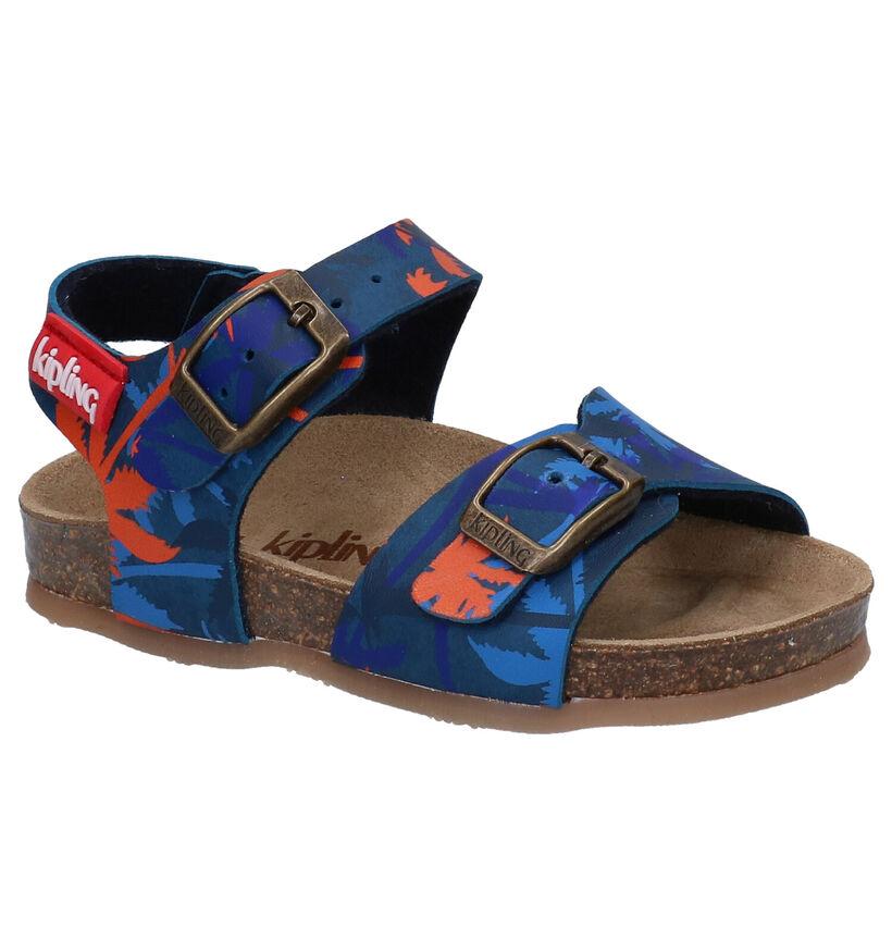 Kipling Nepal Blauwe Sandalen in kunstleer (289859)