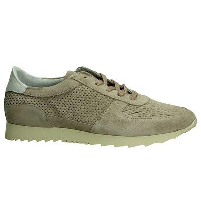 Shoecolate Chaussures à lacets en Rose en nubuck (192748)