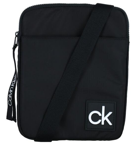 Calvin Klein Accessories Flat Pack Zwarte Crossbody Tas