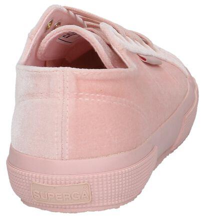 Superga Baskets basses en Rose clair en textile (210094)