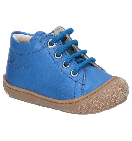 Naturino Cocoon Blauwe Hoge Schoenen
