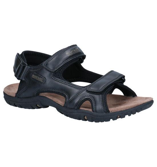 Regatta Haris Zwarte Sandalen